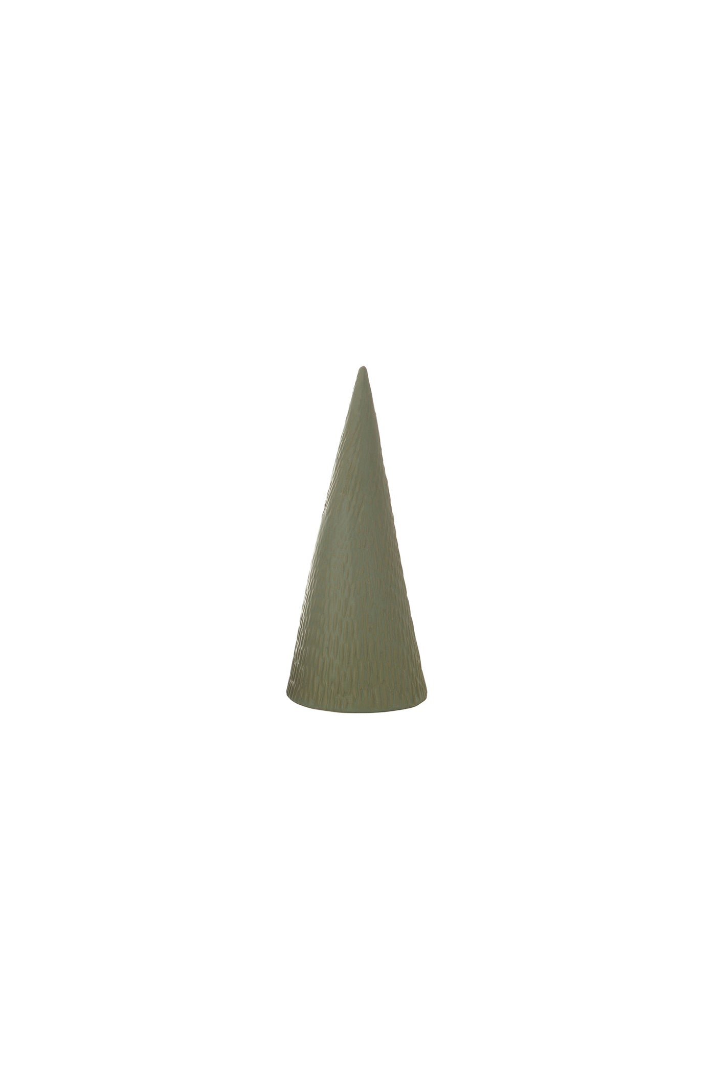 Small Green Stoneware Christmas Tree by For Good