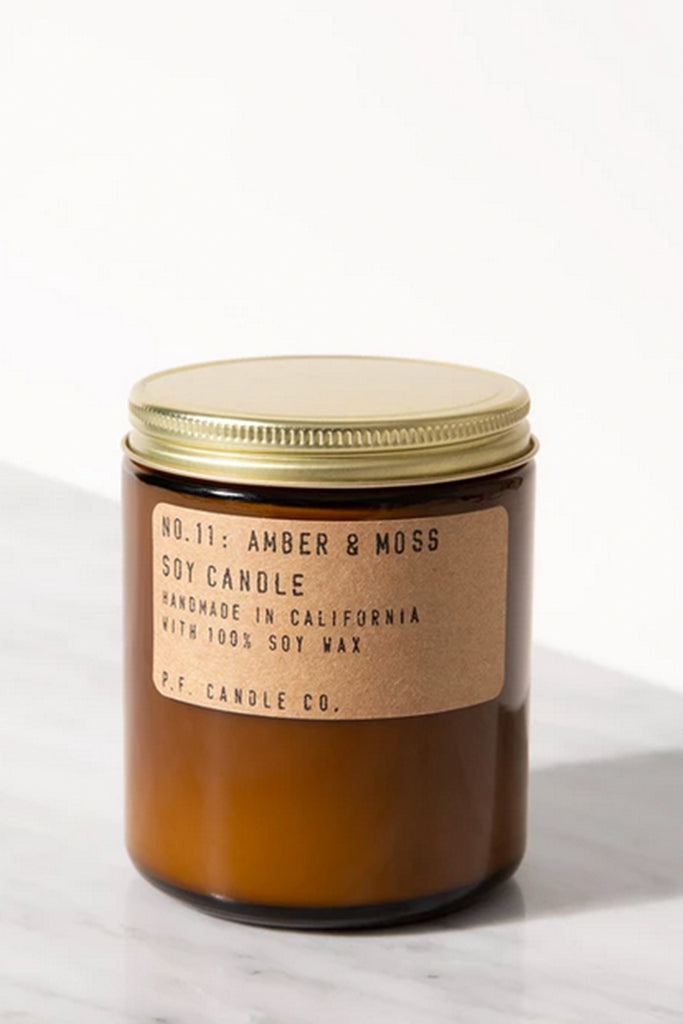 Amber & Moss 7.2oz Candle by P.F. Candle