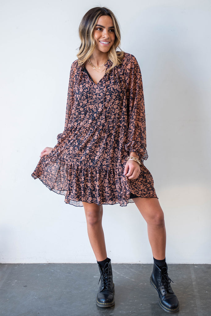My Mistake Floral Dress By For Good