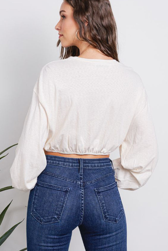 Waiting For Me Crop Top