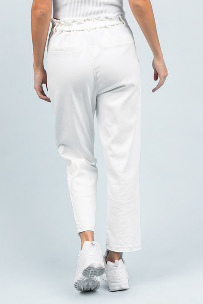 White Trouser Pants