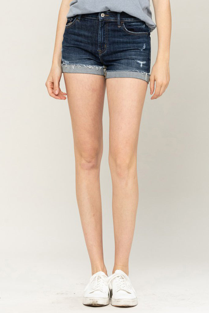 No Place To Go Denim Shorts