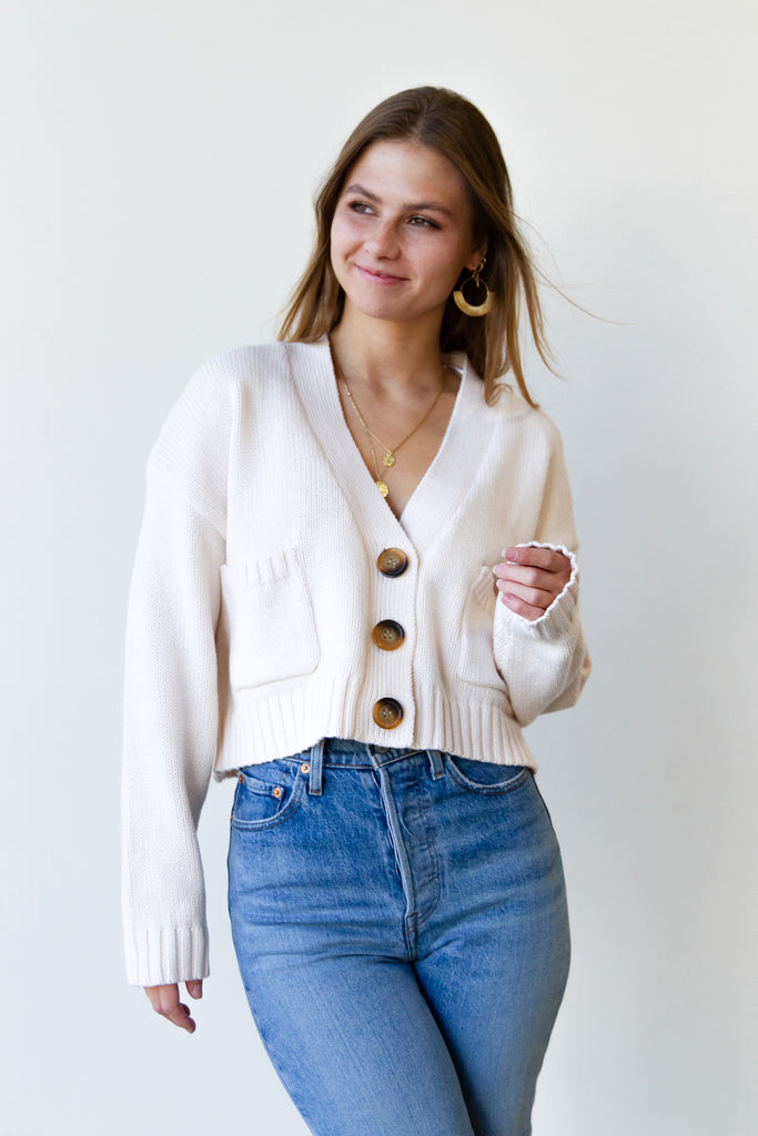 Reasons Knit Cardigan