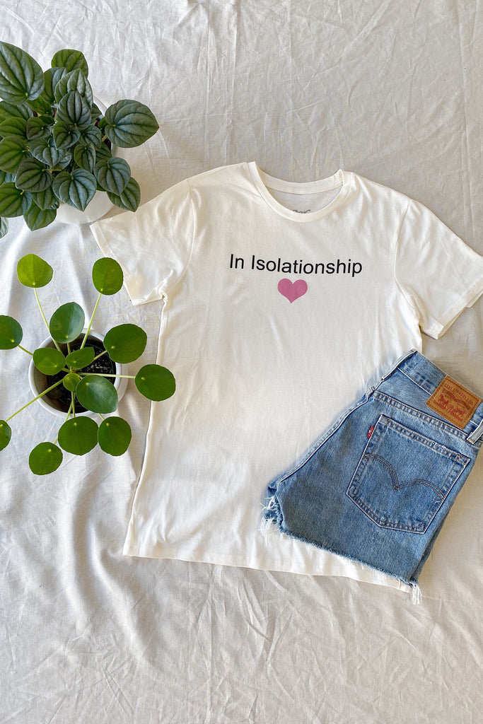 Cream In Isolationship Top