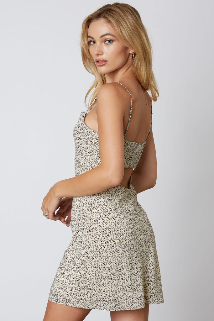 Rumor Going Around Floral Cami Dress