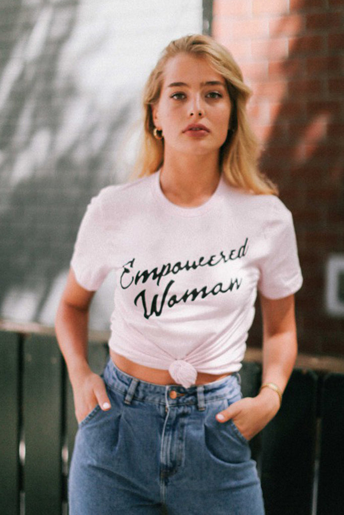 Empowered Woman Graphic Tee by For Good