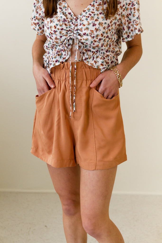 Wildfire High Waisted Shorts by For Good