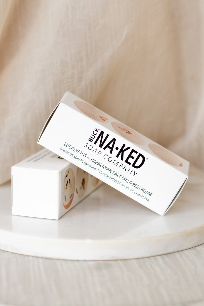Himalayan Salt Mani-Pedi Bomb By Buck Naked