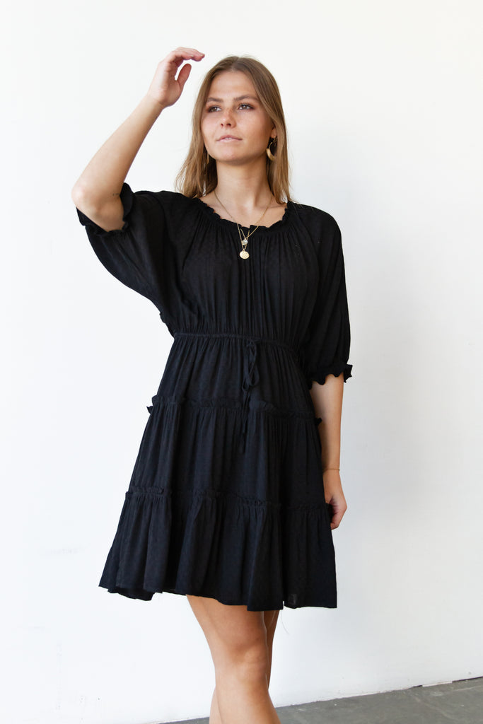Be Adored Ruffled Dress By For Good
