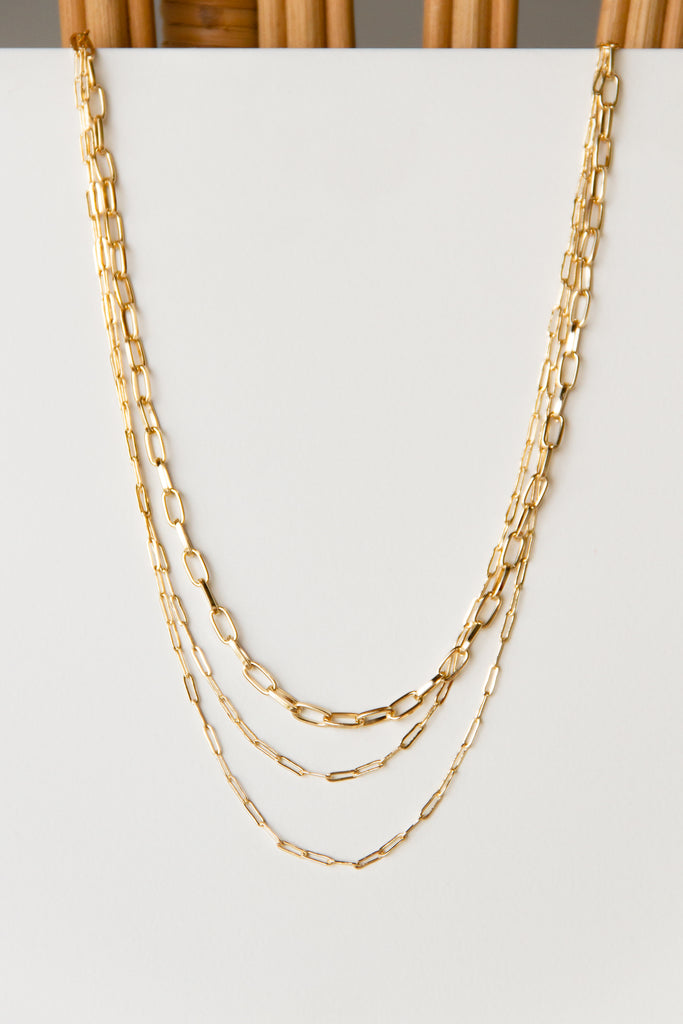 Show Me Layered Chain Necklace