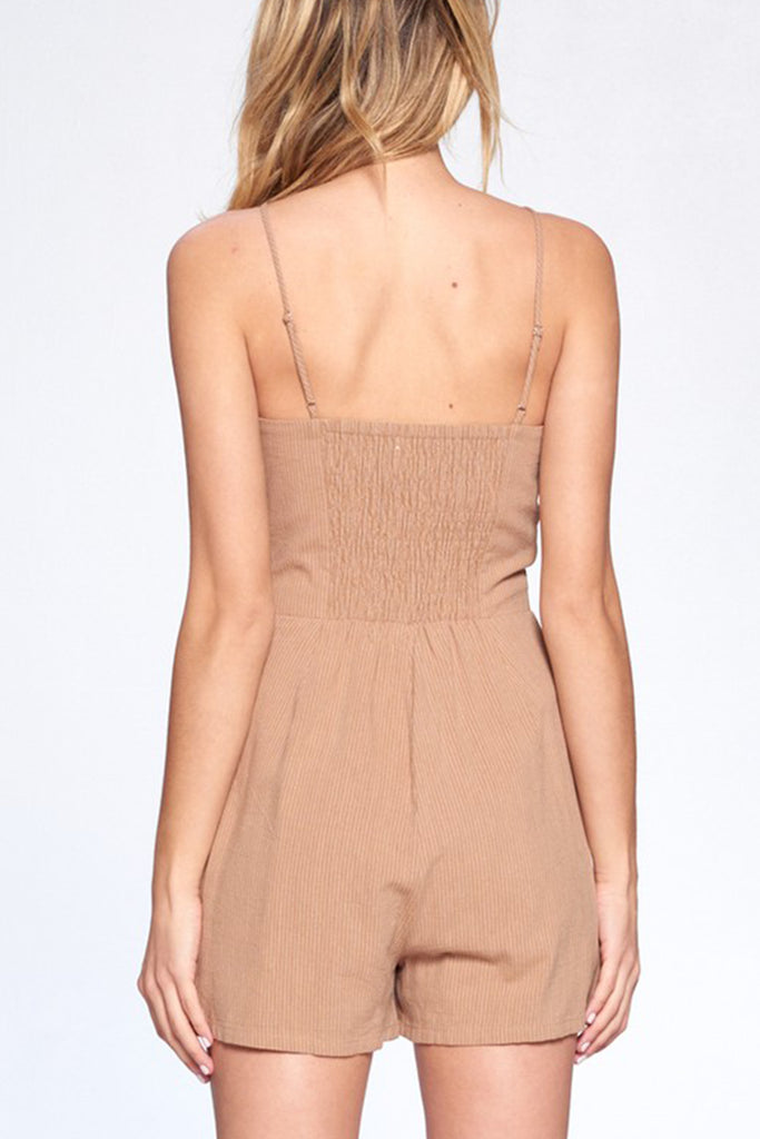 First In Line Romper