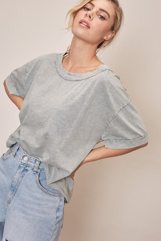 It's Always There Short Sleeve Top by For Good