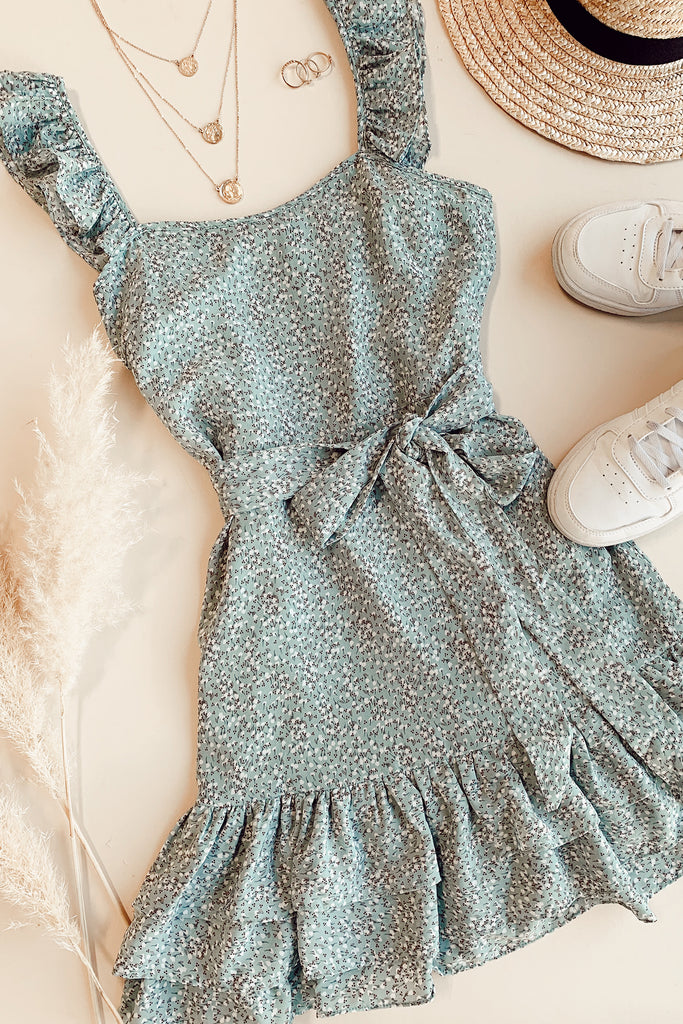 These Moments Floral Dress