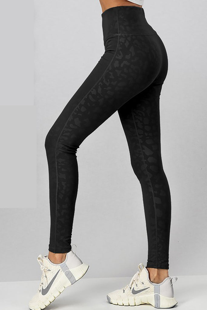 Set Your Goals Animal Print Leggings By For Good