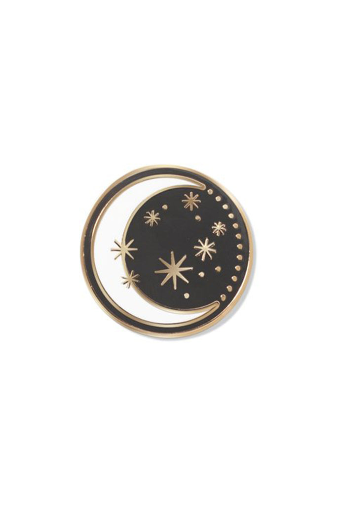 Moon & Stars Pin by For Good