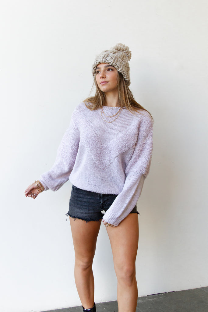 Love Thief Knit Sweater By For Good