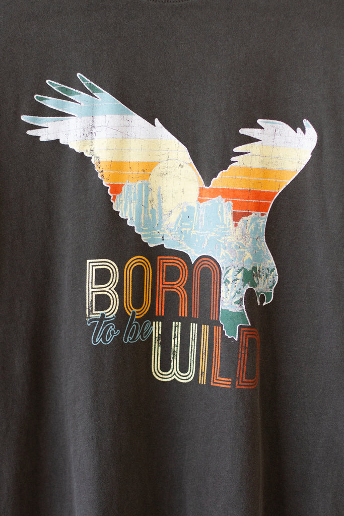 Born Wild Graphic Tee