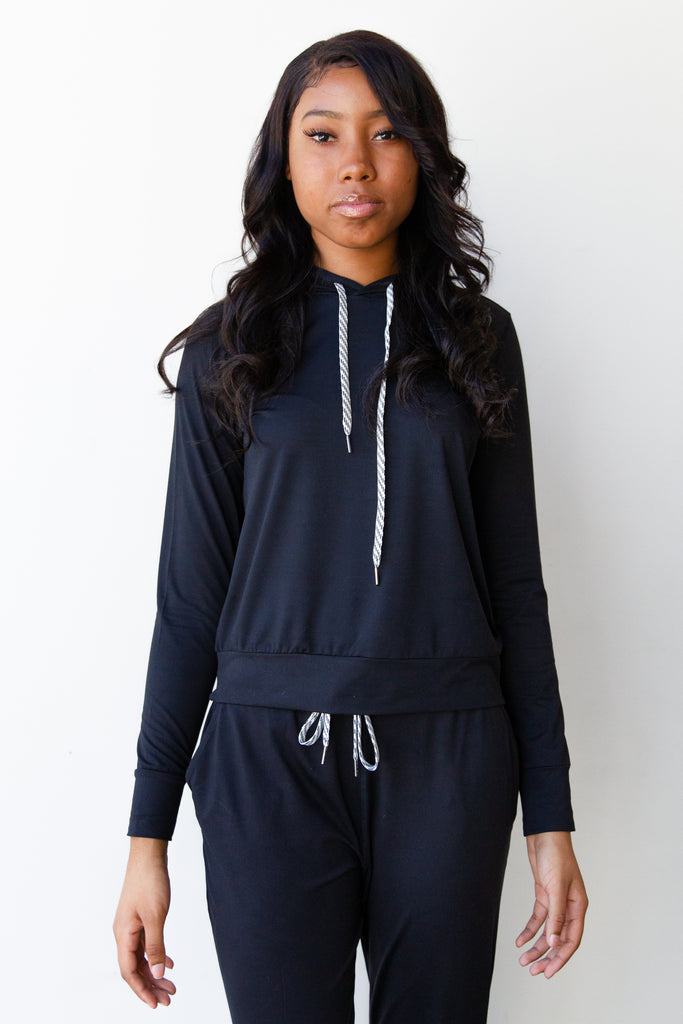 Worthy Hooded Sweater By For Good