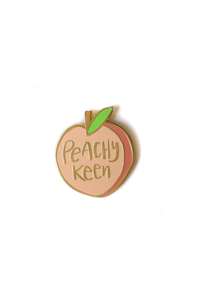 Peachy Keen Pin by For Good