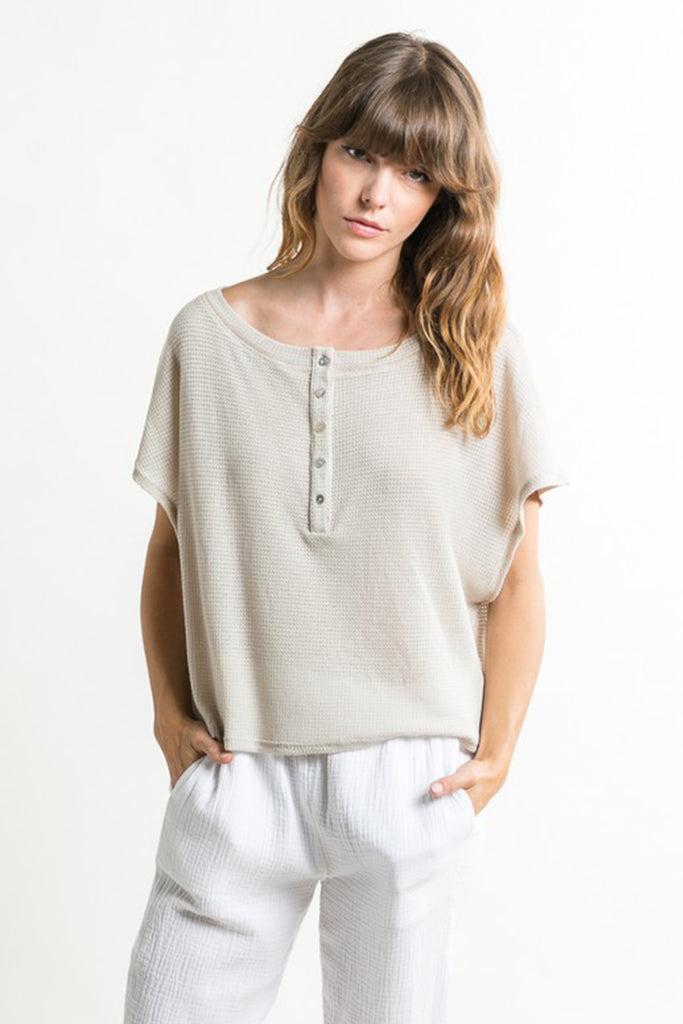 Better World Henley Top by For Good
