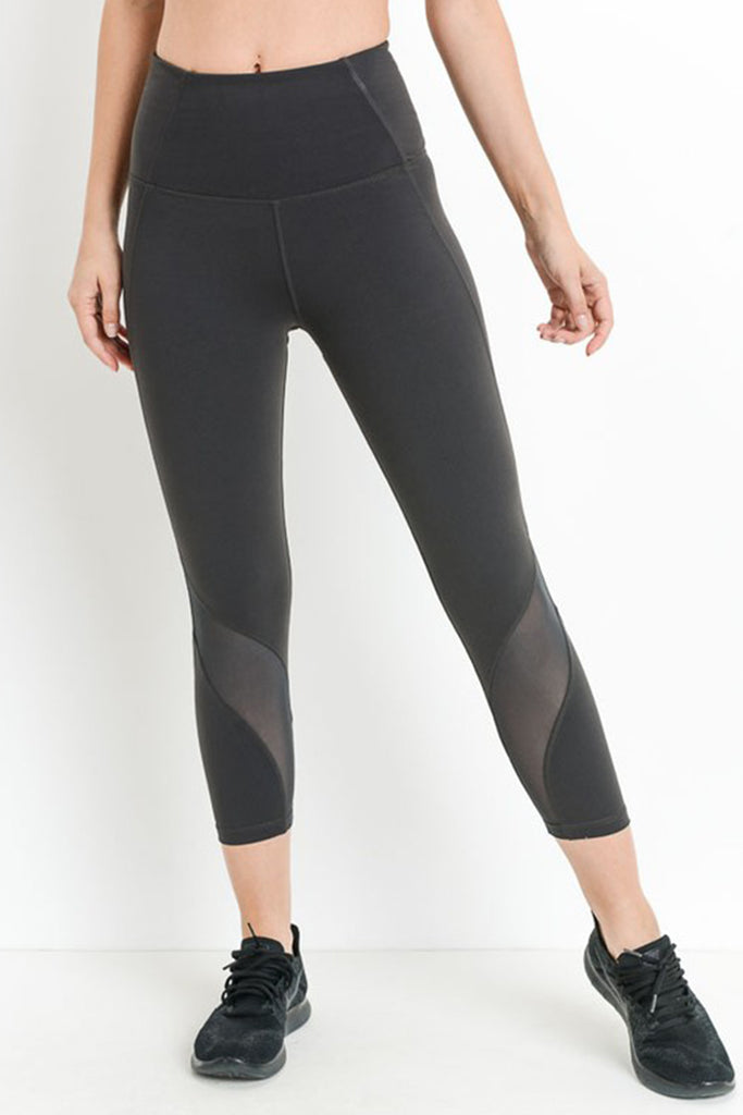 Forever Your Girl Capri Leggings by For Good