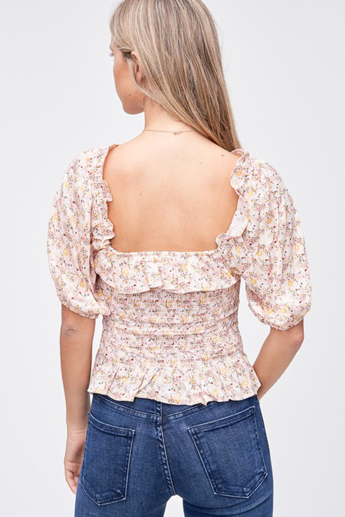 The Time Is Yours Floral Top