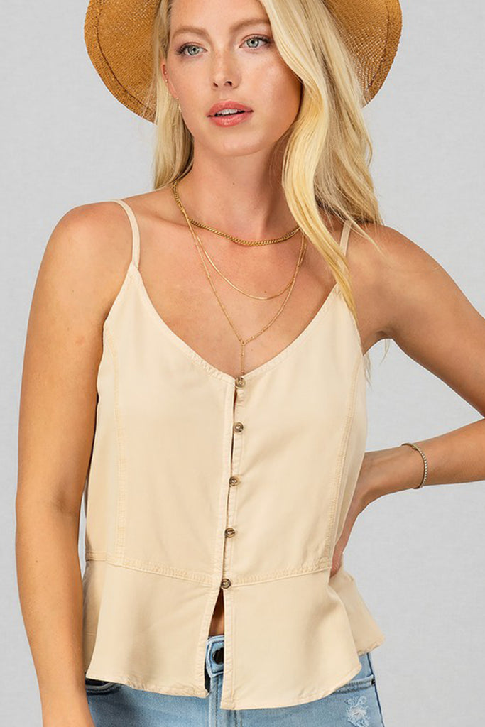 Little Bit Of Love Cami Top by For Good