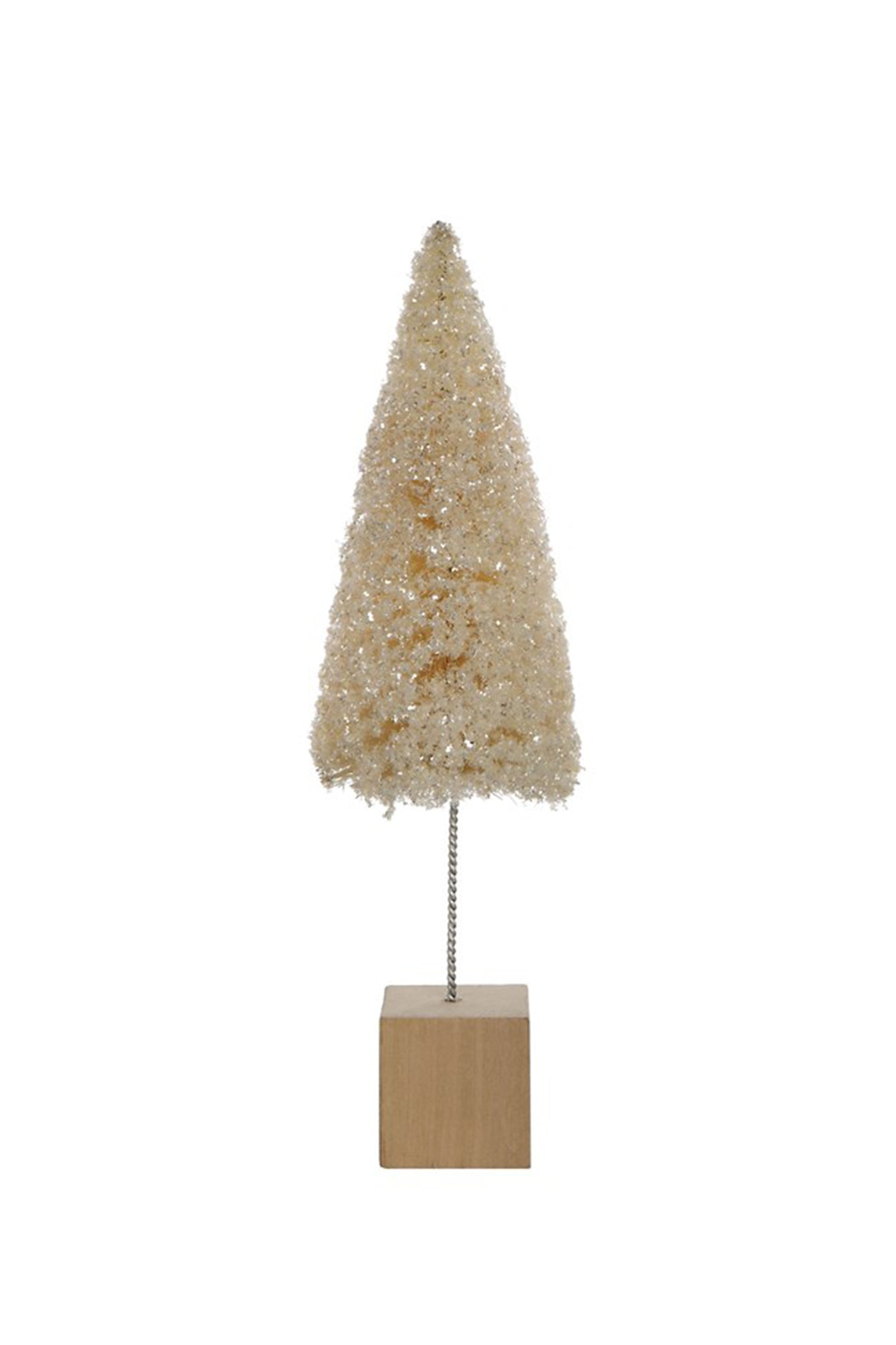 Medium Cream Christmas Tree by For Good