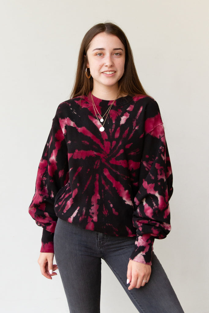 Be Fierce Tie Dye Sweater