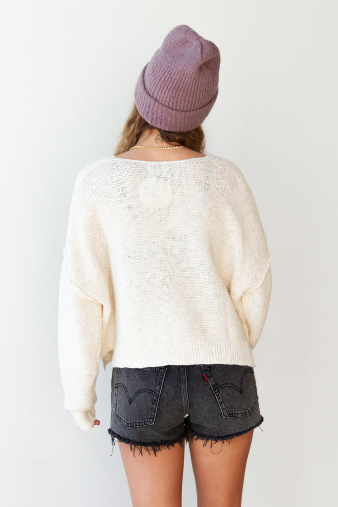 No Reservations Knit Sweater