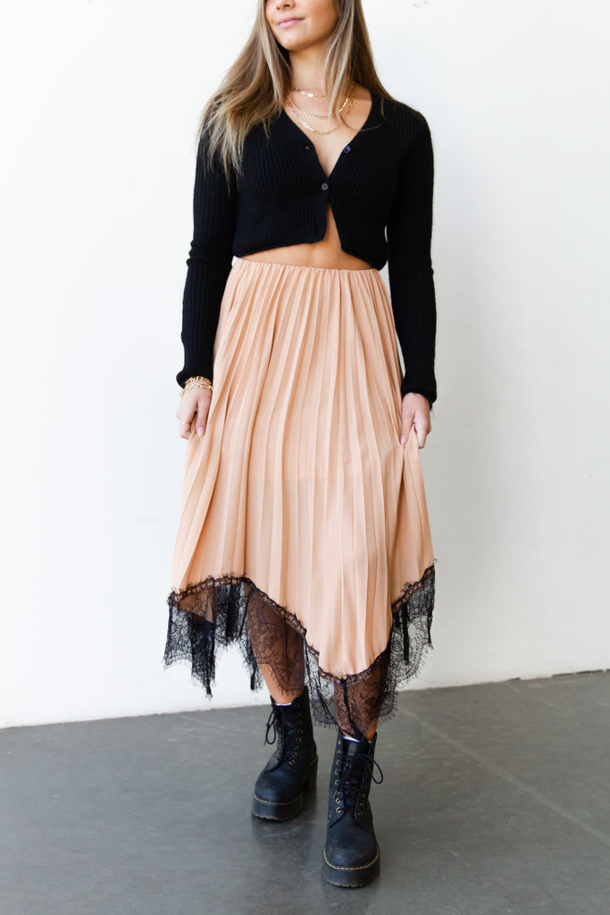 Say Less Midi Skirt By For Good