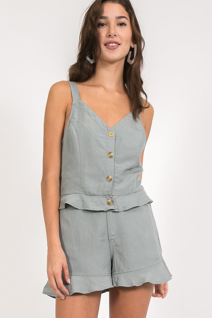 Come On Over Sleeveless Top by For Good