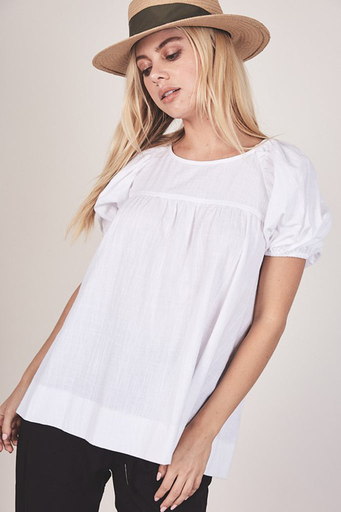 Going Strong Short Sleeve Top by For Good