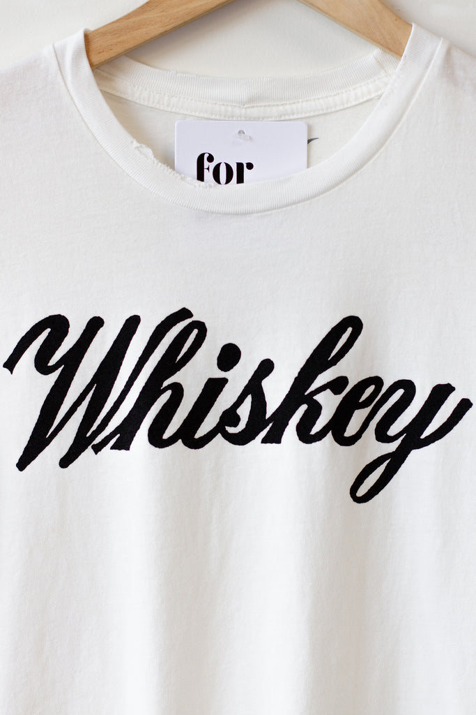Whiskey Graphic Tee by Bandit Brand