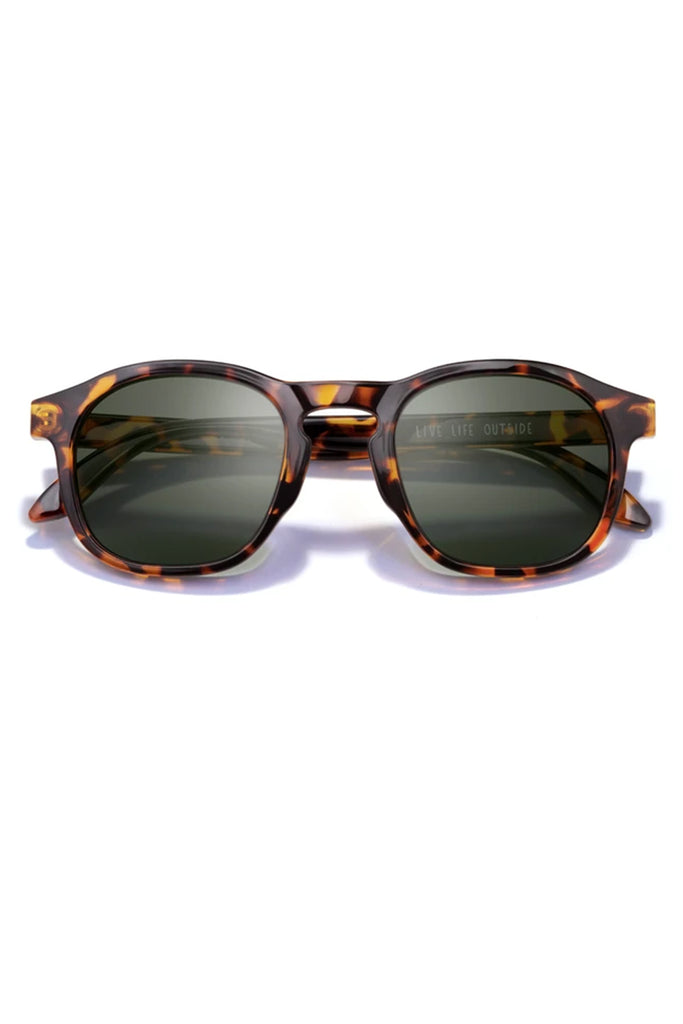 Foothill Tortoise Forest Sunglasses by Sunski