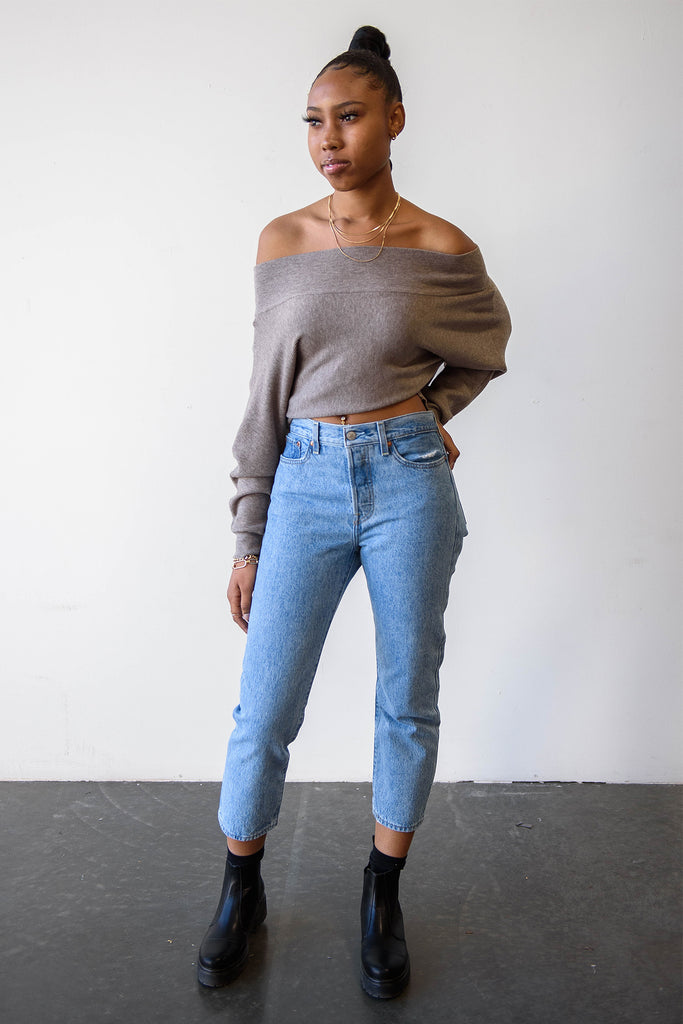 Best News Knit Sweater