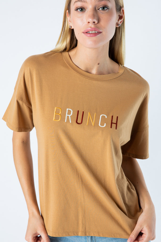 The Brunch Graphic Tee by For Good