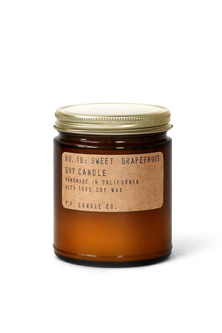 Sweet Grapefruit 7.2oz Candle by P.F. Candle