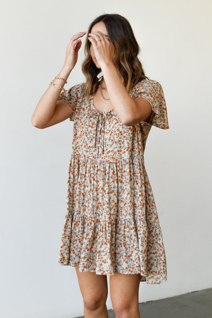 All In Floral Dress by For Good