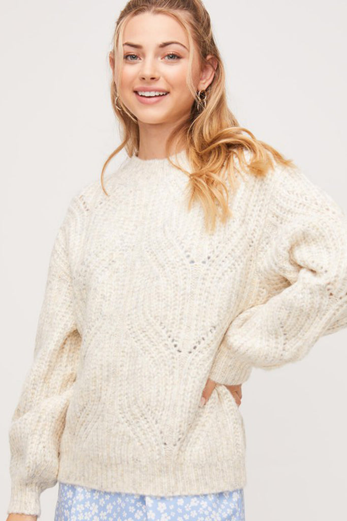 Not Your Typical Knit Sweater By For Good