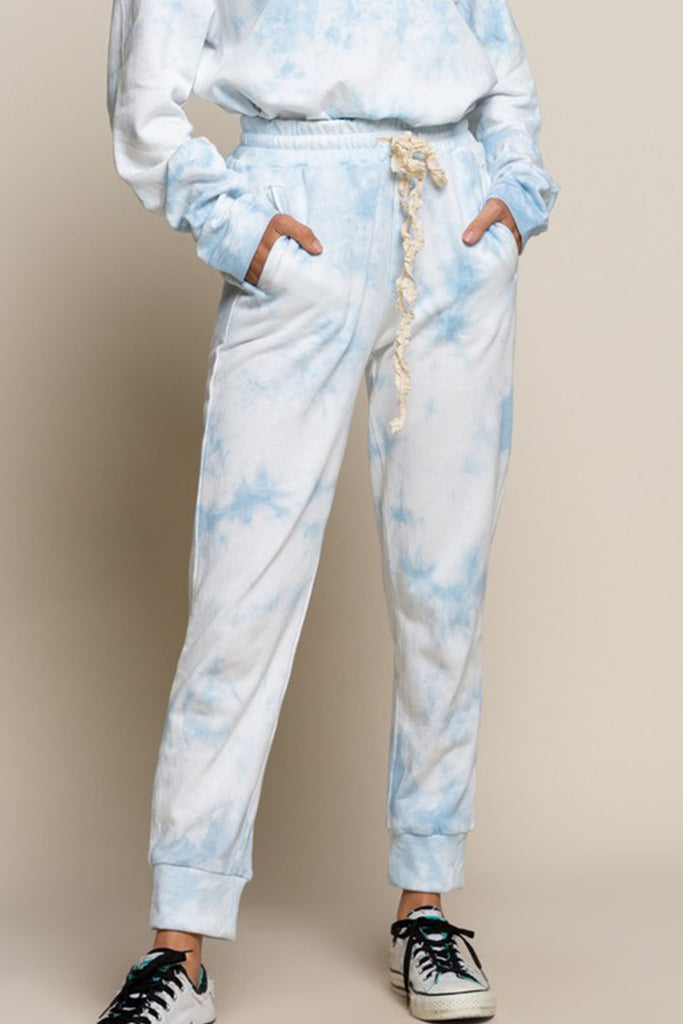 Call It Cozy Tie-Dye Pants by For Good