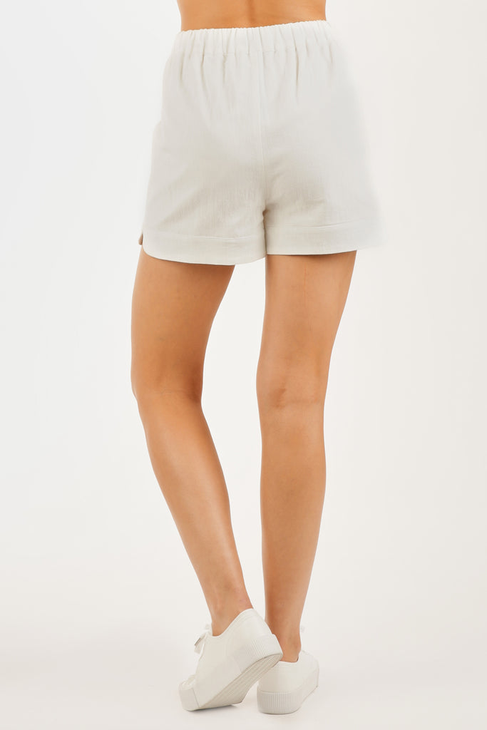 Wishful Wanderings High Waisted Shorts