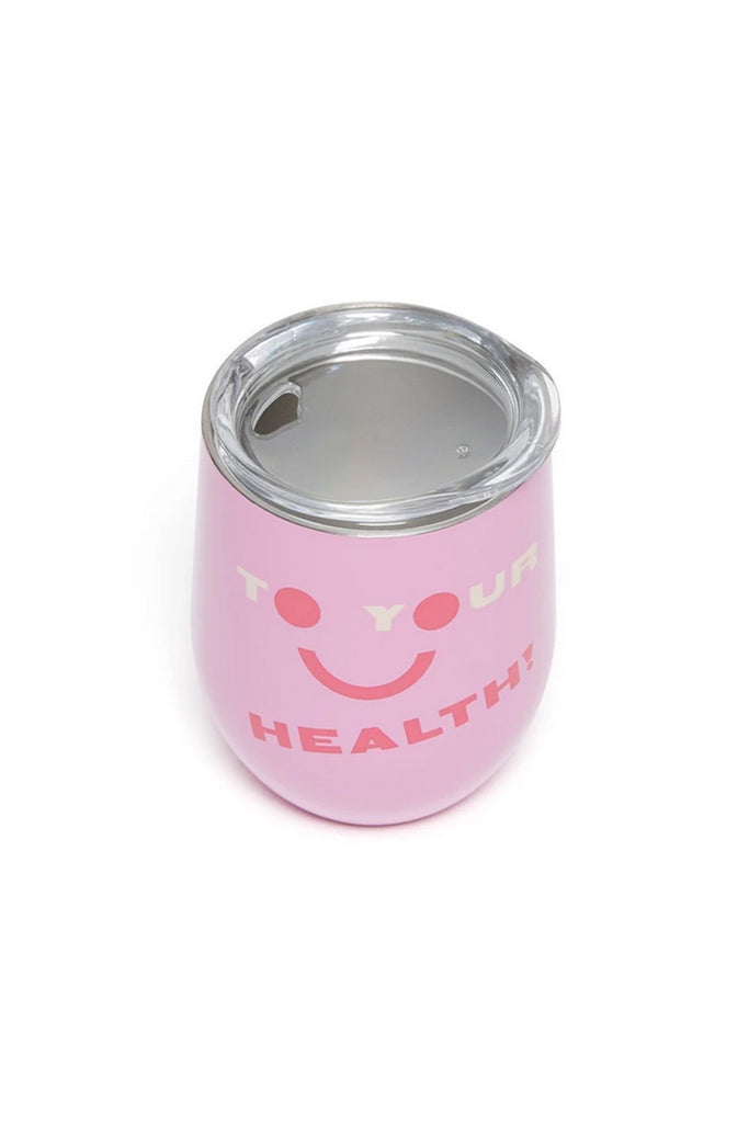 To Your Health Wine Tumbler by ban.do