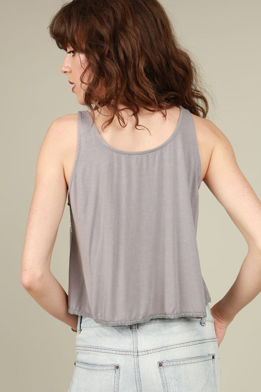 In Your Dreams Sleeveless Top