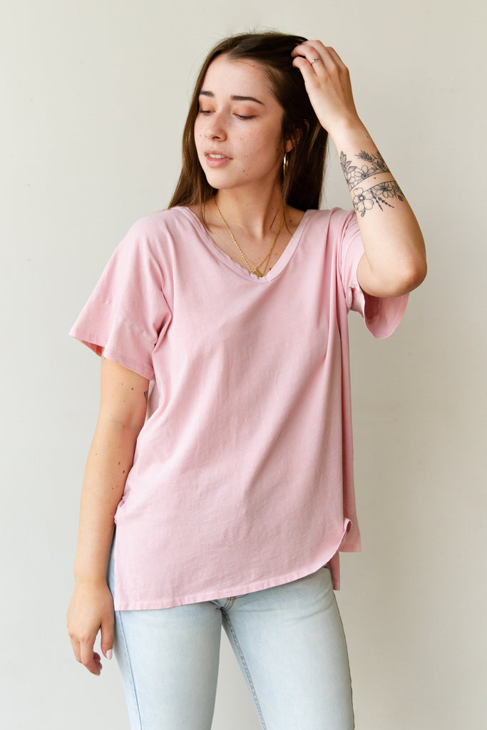 Self Loving Short Sleeve Top