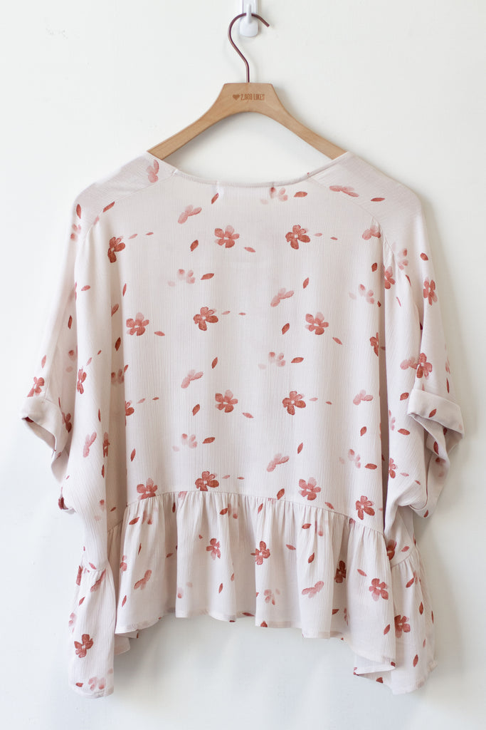 Ready To Run Floral Top