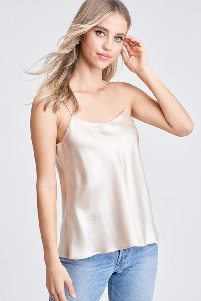 Made To Fly Sating Cami Top