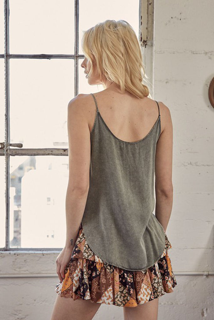 On The Dot Cami Top by For Good