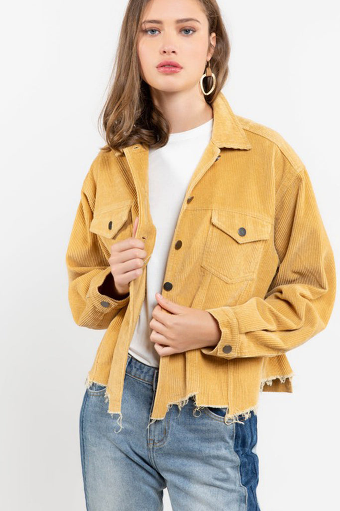 One of Those Nights Corduroy Jacket