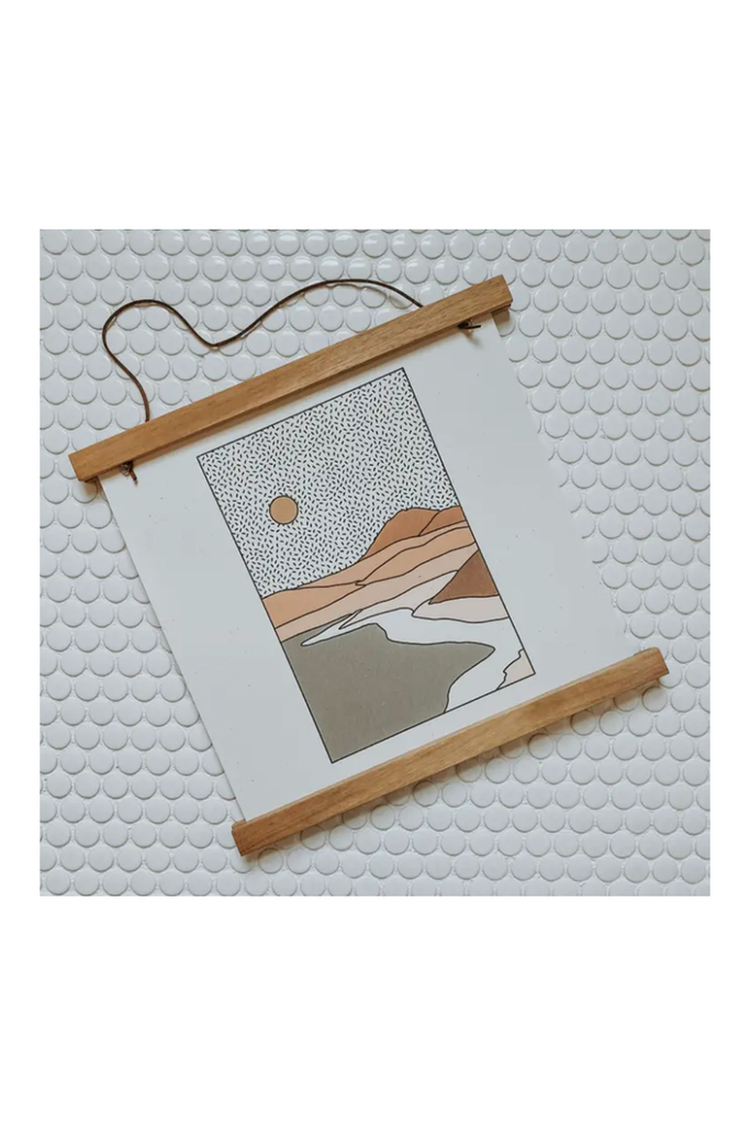magnetic teakwood frame